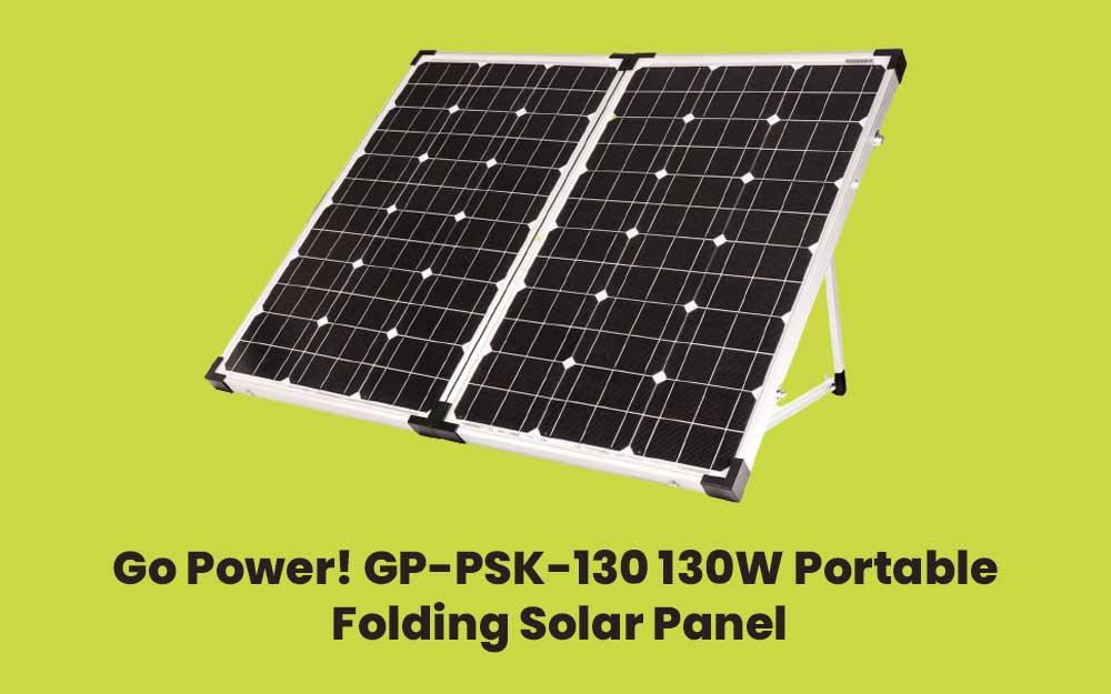 Go Power! GP-PSK-130 130W Portable Folding Solar Panel