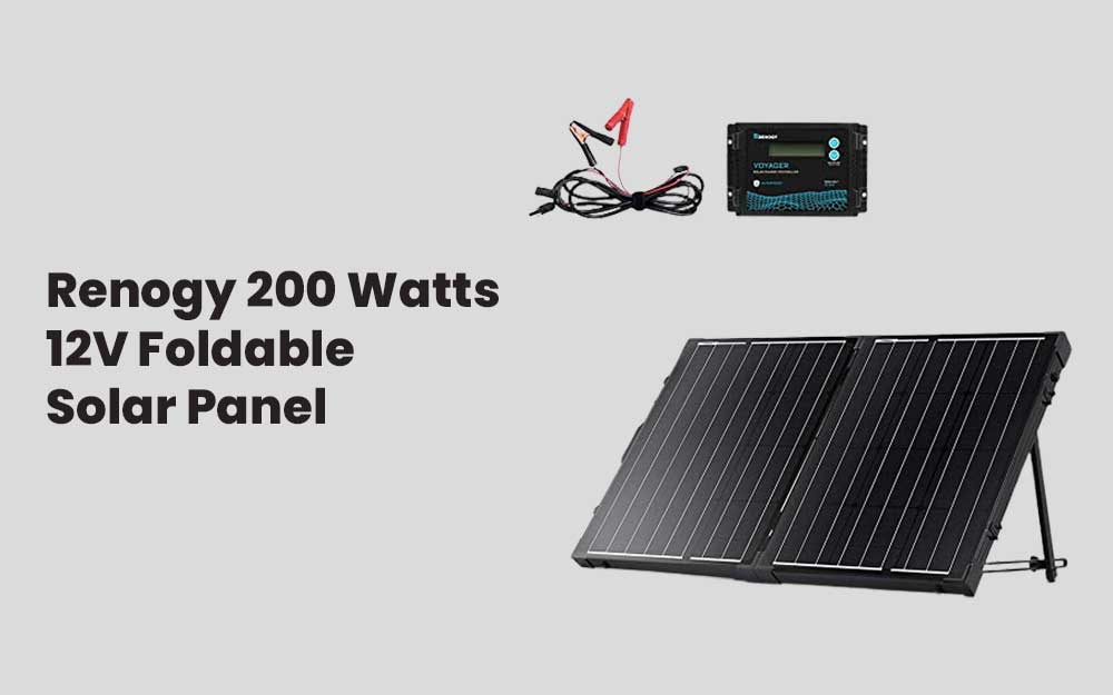 Renogy 200 Watts 12V Foldable Solar Panel