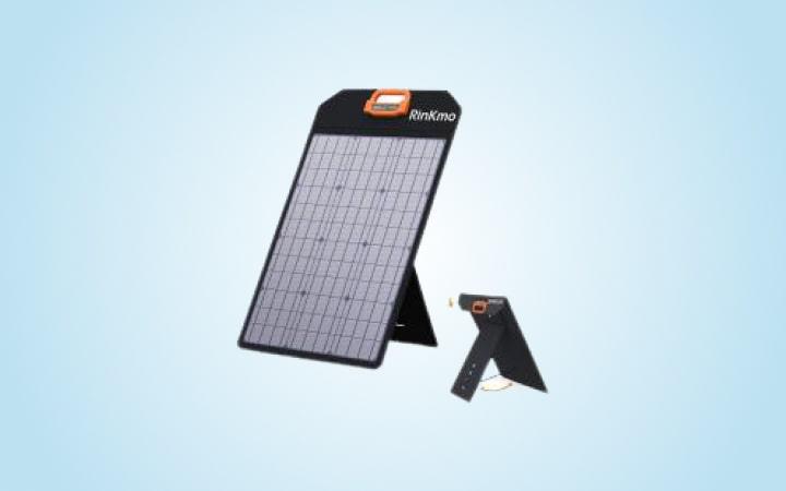 QiSa Solar Charger 35800mAh Solar Power Bank
